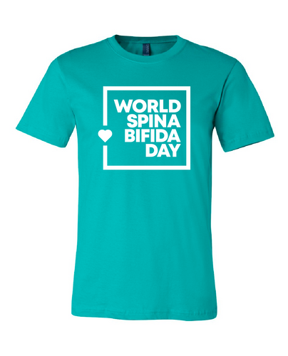 World Spina Bifida Day Teal T-Shirt - YOUTH