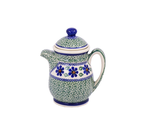 Teapot Green Meadow