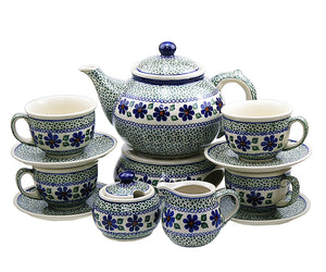 Coffee,Tea set Green Meadow