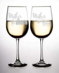 19 oz. Mother of the Groom and Mother of the Bride wine glass set (02)