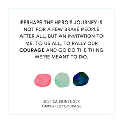 Imperfect Courage Jessica Honegger