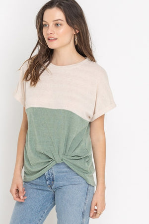 Colorblock Love Top
