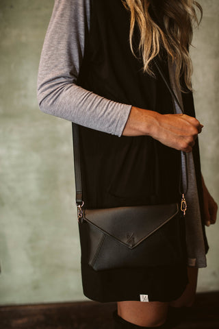 Kimnai Handbag - Black