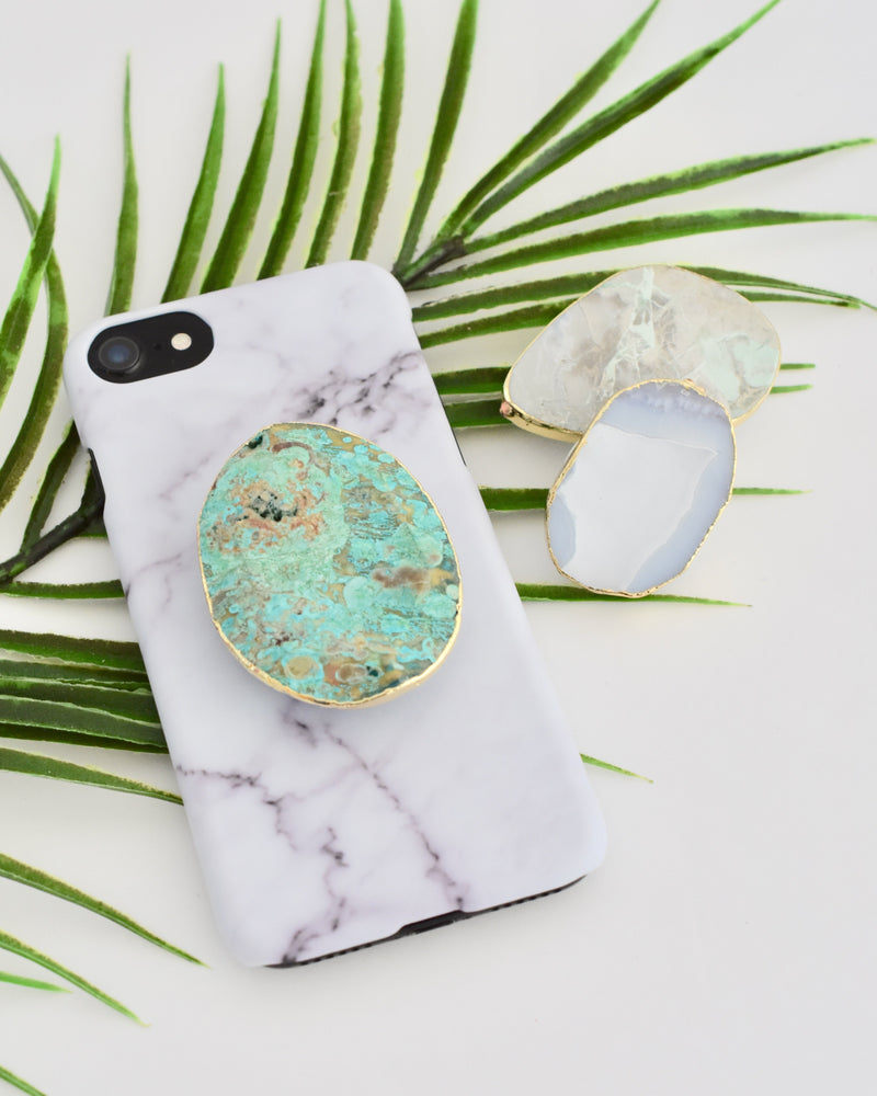 Gemstone Pop Socket