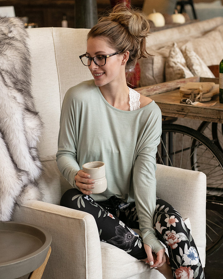 Easy Slub Lounge Top