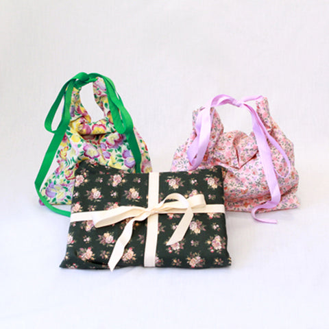 Reusable Gift Bags - Small Set of 3