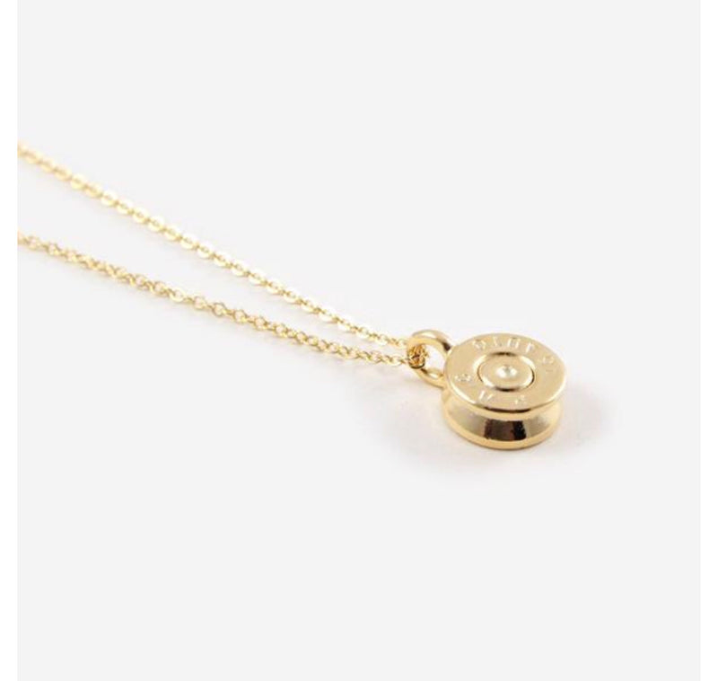 Tiny Top Bullet Necklace
