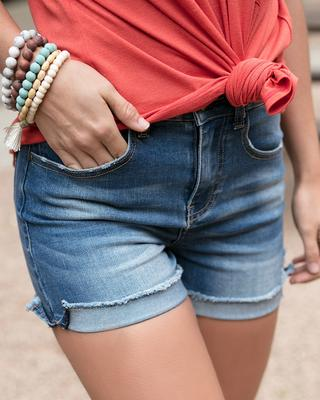 Super Stretch Midi Shorts