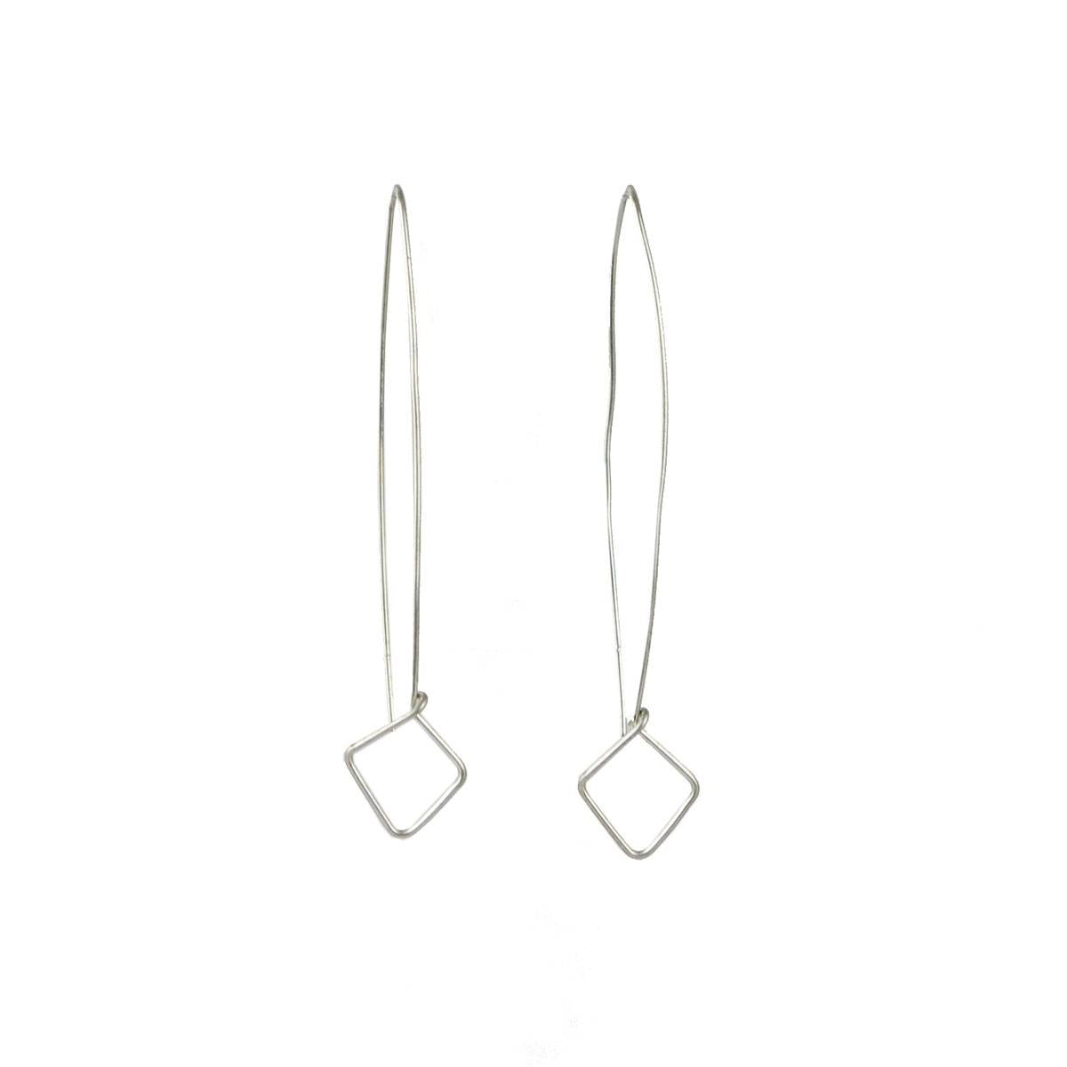 Silver Brave Drop Earring