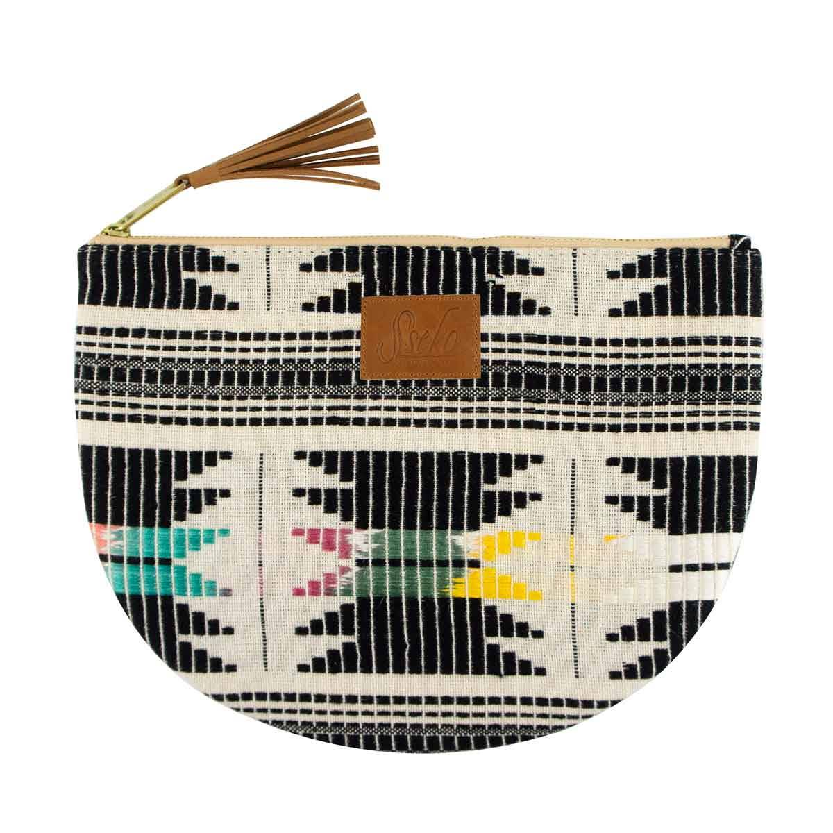 Woven Large Moon Clutch in Haryana