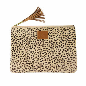 Tassel Clutch in Fauna