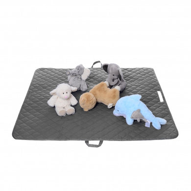 2-in-1 Floor Mat & Bag - Grey