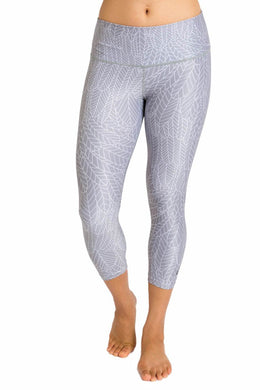 Eco-Friendly High-Waisted Women's Capri - Flight