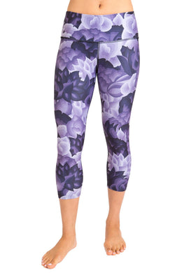 Eco-Friendly High-Waisted Women's Capri - Luna