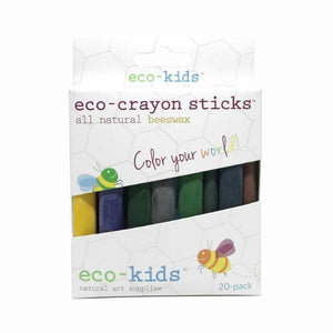 Eco-Crayon Sticks (20pk)