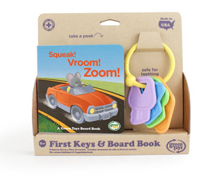First Keys Teether & Book Set