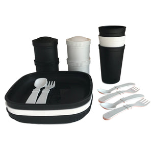 Utensil Set (8pk) - White
