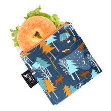 Load image into Gallery viewer, Reusable Snack/Wet Bag - Camp Out