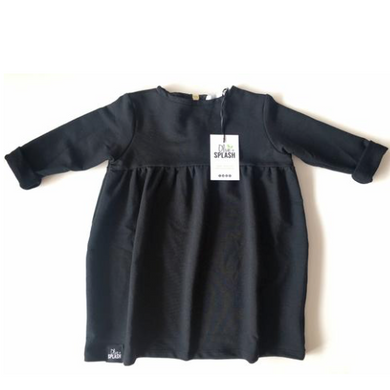 Bamboo Baby Doll Top - Charcoal
