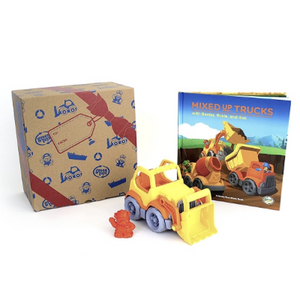Scooper & Board Book Set