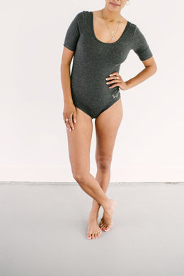 Delux Bodysuit - Shadow Grey
