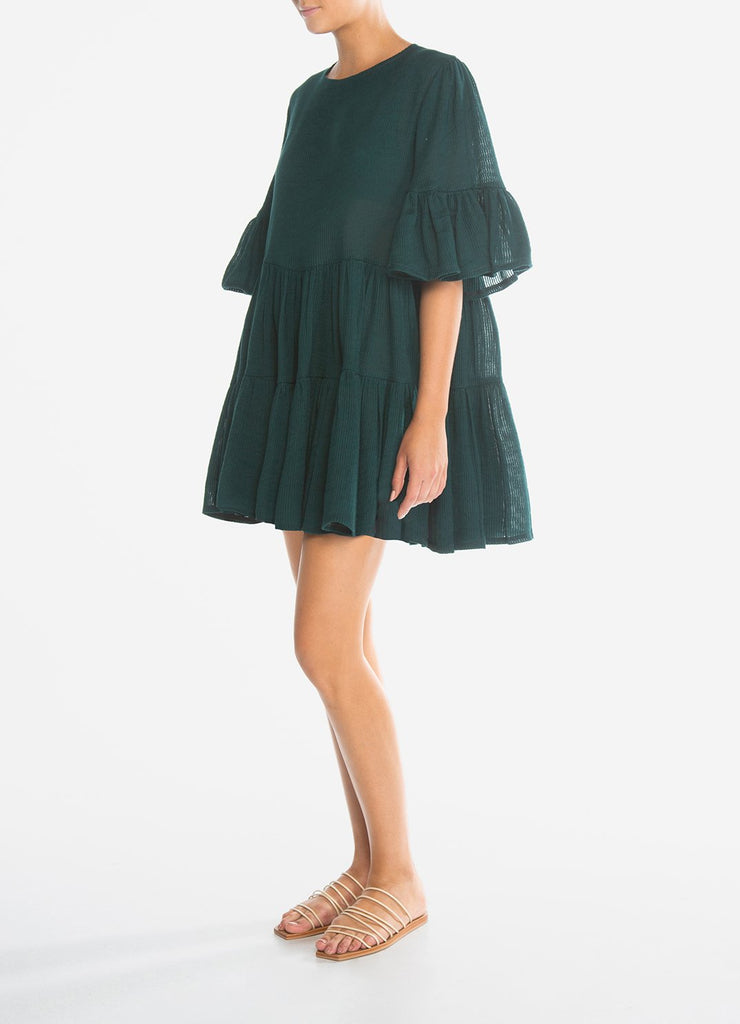 Lagoon Tiered Smock Dress