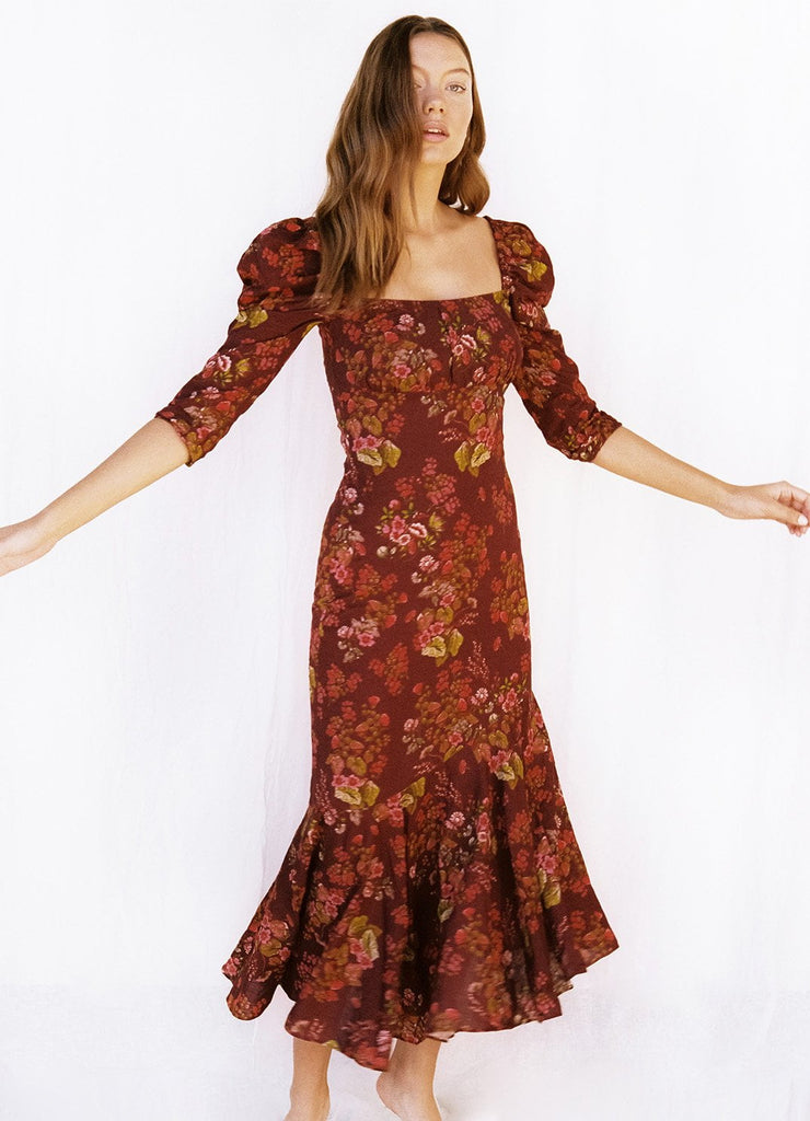 Renaissance Holiday Maxi Dress