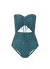 Evergreen Ruched One Piece