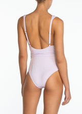 Lavender Hi Tri One Piece