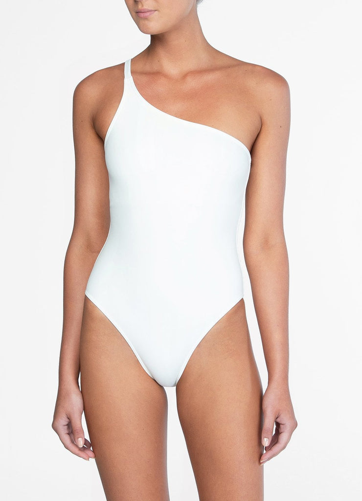 Petunia One Shoulder One Piece