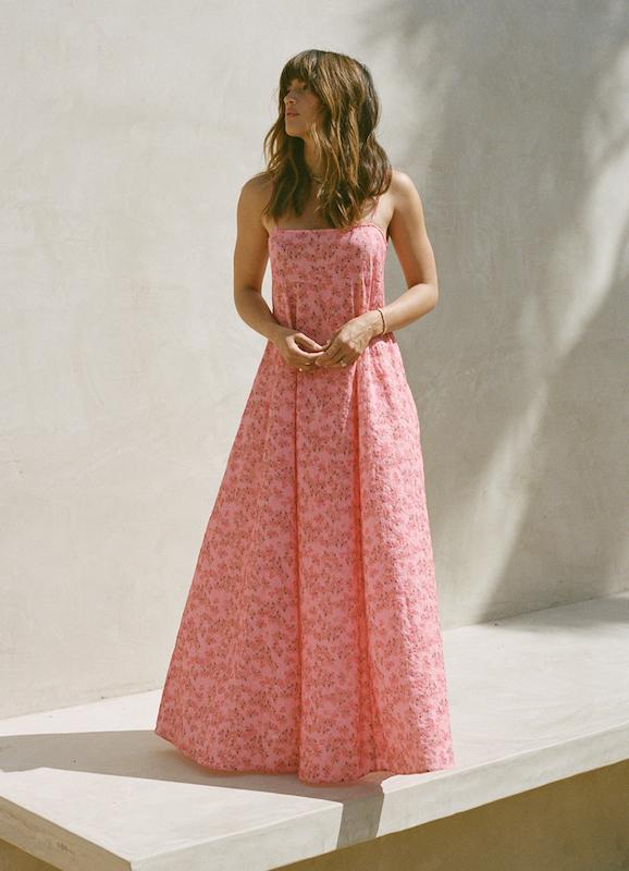Pomegranate Weekend Maxi
