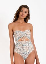 Wildflower Ruched One Piece