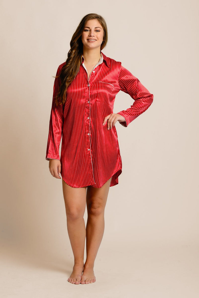 Scarlet Stripes Shirt