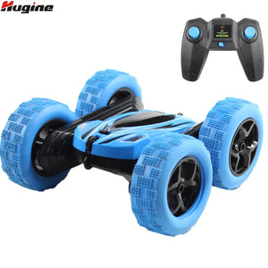 Hugine RC Car 2.4G 4CH Stunt Drift Deformation Buggy Car