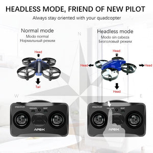 Mini Drone Dron Quadcopter Remote contral