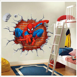 3D Cartoon Movie Wall Sticker