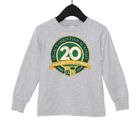 20th Anniversary TODDLER JERSEY LONG SLEEVE TEE