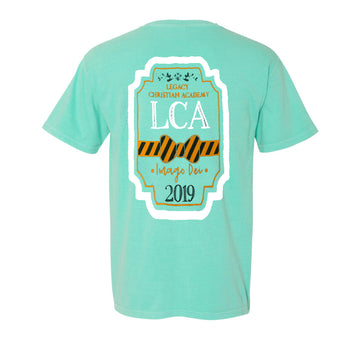Teal Southern Comfort Colors Tee