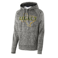 Athletics Heather Black Performance Fleece Hoodie