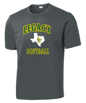 Legacy Softball Dri Fit Short Sleeve Tee