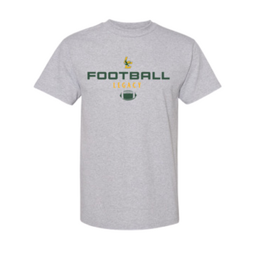 Grey Legacy Football Athletics Tee