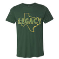 Athletics Green Tri Blend Tee