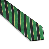 Green Striped Tie