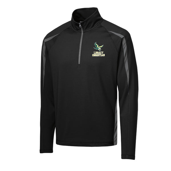 Embroidered Men's 1/2 Zip Pullover