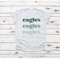Eagles Repeat Tee