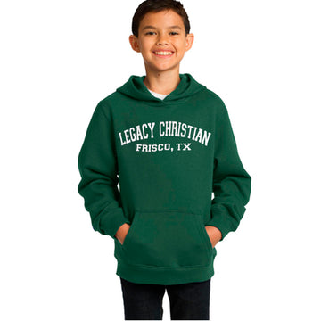 Youth Legacy Green Hoodie
