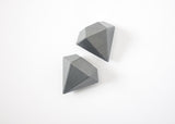 Diamond Drawer Pulls (2pcs)