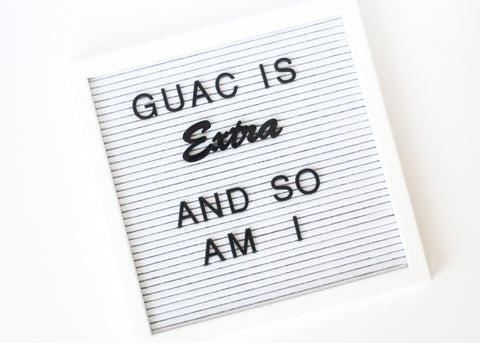 Letter Board Extra-Basic Set (2pcs)