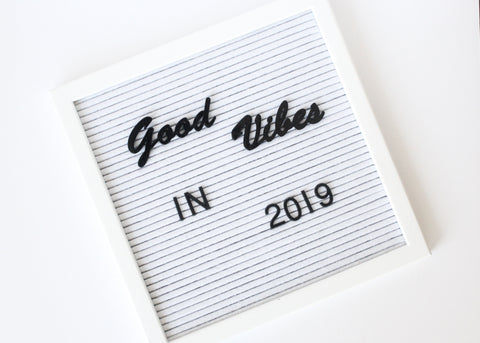 Letter Board Good Vibes Set (2pcs)