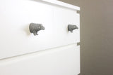 Hippo Drawer Pulls (2pcs)